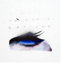 Neeraj Ydava | Closed Eye Abstract Mixed media by artist Neeraj Ydava on Canvas | ArtZolo.com