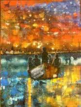 Transition | Painting by artist Nishant Mishra | acrylic | Canvas