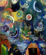 The Quest  | Painting by artist Nishant Mishra | acrylic | Canvas