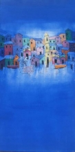 Village | Painting by artist Suresh Gulage | acrylic | Canvas