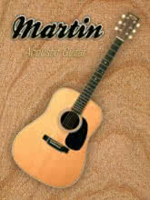 Wonderful Martin Acoustic Guitar | Photography by artist Shavit Mason | Art print on Canvas