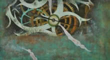 Bhavesh Patel | Mixed-media Painting title Nature Series X on Paper | Artist Bhavesh Patel Gallery | ArtZolo.com