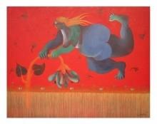 DREAM | Painting by artist Shiv Kumar Swami | acrylic | Canvas