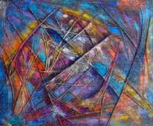 Purnima Gupta | Miracle Within Mixed media by artist Purnima Gupta on canvas | ArtZolo.com