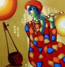Baul 5 | Painting by artist Sekhar Roy | acrylic | Canvas