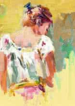Beauty 04 | Painting by artist Raviraj Kumbhar | acrylic | Canvas Board