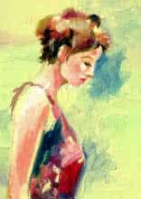 Beauty 05 | Painting by artist Raviraj Kumbhar | acrylic | Canvas Board