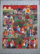 Malavikagnimitram   Painting by artist Satish Chavhan   watercolor   Paper