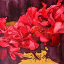 Nature Acrylic Art Painting title Bunch Of Flowers by artist Balaji G. Bhange