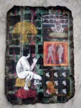 Who Is The Boss 5   Painting by artist Deepak Kumar Ambuj   acrylic   Canvas