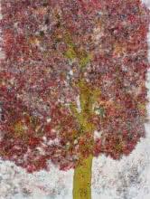 Treescape 55   Painting by artist Bhaskar Rao   acrylic   Canvas