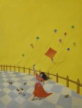 Still-life Oil Art Painting title Liberate by artist Durshit Bhaskar