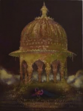Royal Gardens | Painting by artist Durshit Bhaskar | oil | Canvas