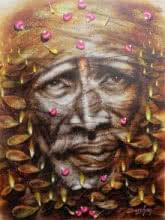 Shirdi Sai Baba | Painting by artist Darshan Sharma | oil | Canvas