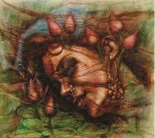 Fantasy II   Painting by artist Darshan Sharma   oil   Canvas