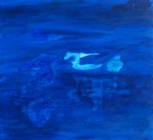 Abstraction 3 | Painting by artist Prakash Bal Joshi | acrylic | Canvas