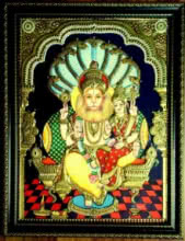 art,painting,tanjore,folk,indian,traditional,