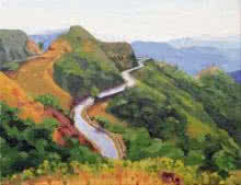 Amba Ghat   Painting by artist Tushar Patange   oil   Canvas