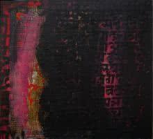 Abstract Acrylic Art Painting title 'Spiritualism III' by artist Ashutosh Apte