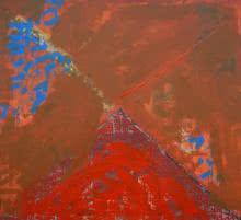 Ashutosh Apte | Acrylic Painting title Spiritualism II on Canvas | Artist Ashutosh Apte Gallery | ArtZolo.com