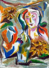 Homemaker | Painting by artist Swami | acrylic | Canvas