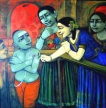 Little Love   Painting by artist Apet Pramod   acrylic   Canvas