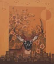 My World Your World 1   Painting by artist Vani Chawla   acrylic   Canvas