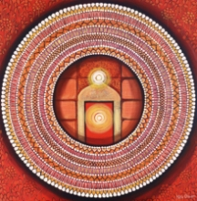 contemporary Acrylic Art Painting title Mandala - Awekening Light Inside A by artist NITU CHHAJER