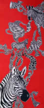 Animals Acrylic Art Painting title 'Untitled 7' by artist Umed Rawat