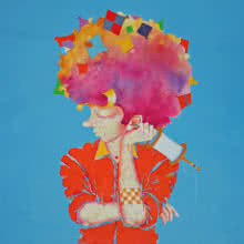 The Childhood xxi | Painting by artist Shiv Kumar Soni | acrylic | Canvas