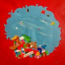 Treasure Of The Childhood Viii | Painting by artist Shiv Soni | acrylic | Canvas
