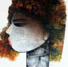 Emotion Of Life 4 | Painting by artist Mukesh Salvi | acrylic | Canvas