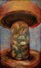 Abstract Acrylic Art Painting title Spiritual tune 2 by artist Arun Jana