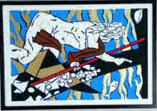 Theorama Series X | Painting by artist M F husain | Serigraphs | serigraph