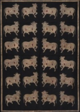 The Cow - Pichwai Art | Painting by artist Artisan | other | Cloth