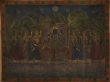 Pichwai Art with Gold Work   Painting by artist Artisan   other   Cloth