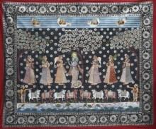 pichwai,pitchwai,pichvai,pichhavai,pichhwai,lotus,kamal,kamal talai,pichwai,pichwai udaipur,shrinathji,original painting,pond,or