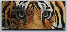Tiger eyes   Painting by artist Mahesh Jangam   acrylic   Canvas