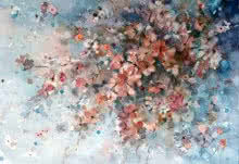Delicate | Painting by artist Asit Singh | watercolor | Paper