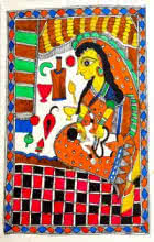 art,painting,folk,traditional,tribal,madhubani,indian