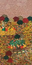 Cityscape 3 | Painting by artist Rama Krishna V | acrylic | Canvas