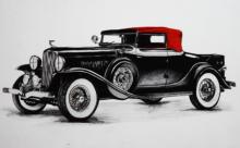 VINTAGE CAR | Drawing by artist Sakshi Jain |  | others | paper