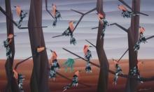NIRAKAR CHOWDHURY | Acrylic Painting title Way of Sitting on Canvas | Artist NIRAKAR CHOWDHURY Gallery | ArtZolo.com