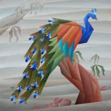 NIRAKAR CHOWDHURY | Acrylic Painting title Waiting on Canvas | Artist NIRAKAR CHOWDHURY Gallery | ArtZolo.com