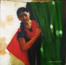 Untitled   Painting by artist Shankar Kendale   acrylic   Canvas