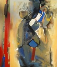 Shringar | Painting by artist Vishal Phasale | acrylic | Canvas