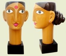Narsimlu Kandi | Untitled 6 Sculpture by artist Narsimlu Kandi on Fiberglass, Acrylic | ArtZolo.com