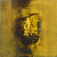 Abstract Acrylic Art Painting title Untitled 19 by artist Umesh Patil