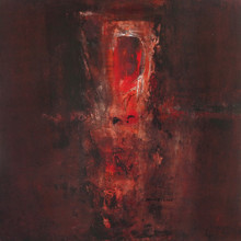 Abstract Acrylic Art Painting title Untitled 20 by artist Umesh Patil
