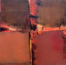 Abstract Acrylic Art Painting title Untitled 37 by artist Umesh Patil